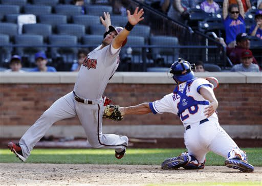 Diamondbacks outlast Mets 5-4 in 15 innings