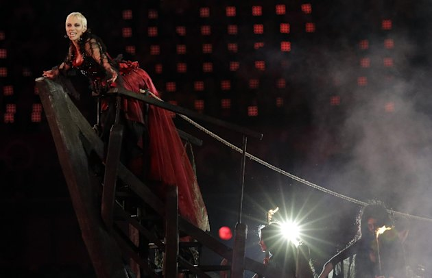 Annie Lennox performs during …