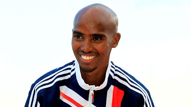 Mo Farah of Great Britani