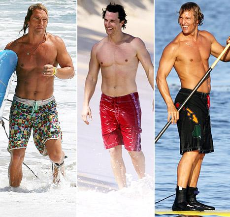 Matthew McConaughey's Hottest Shirtless Moments