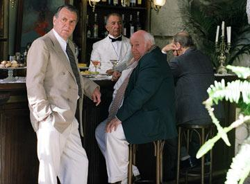 Tom Wilkinson (left) in Lions Gate Films' A Good Woman