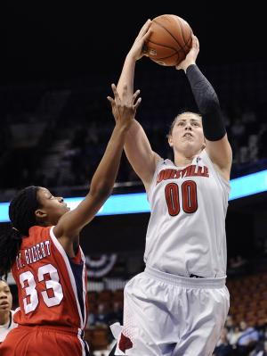 No. 3 Louisville women cruise to win over Houston