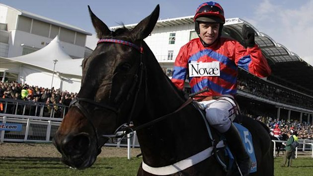 Wonderhorse Sprinter Sacre romped to victory in the feature race on the second day of the Festival - the Queen Mother Champion Chase.