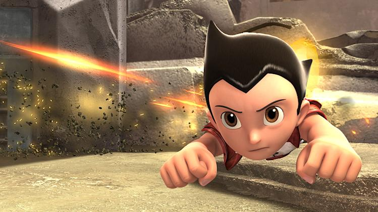 Astro Boy Production Photos 2009 Summit Entertainment