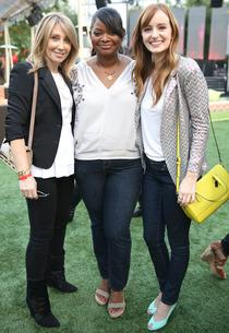 Stacey Snider, Octavia Spencer, Ahna O'Reilly | Photo Credits: Chelsea Lauren/Getty Images