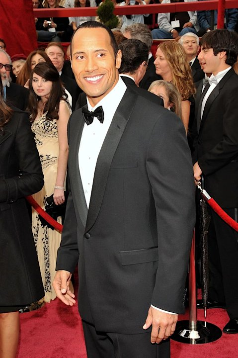 Oscars 2008 Dwayne The Rock Johnson