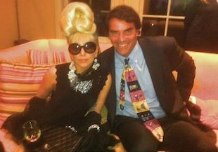 Lady Gaga's outfit for her meeting with President Obama (Photo courtesy Rodrigo Otazu)