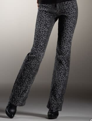 Christopher Blue Smokin Printed Velvet Jean, $175