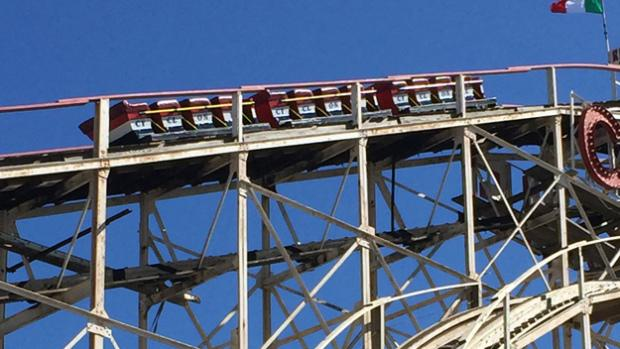 Coney Island's famed Cyclone strands riders on season's first run