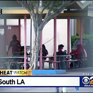 LAUSD Campuses Struggling To Keep Cool During Heat Wave