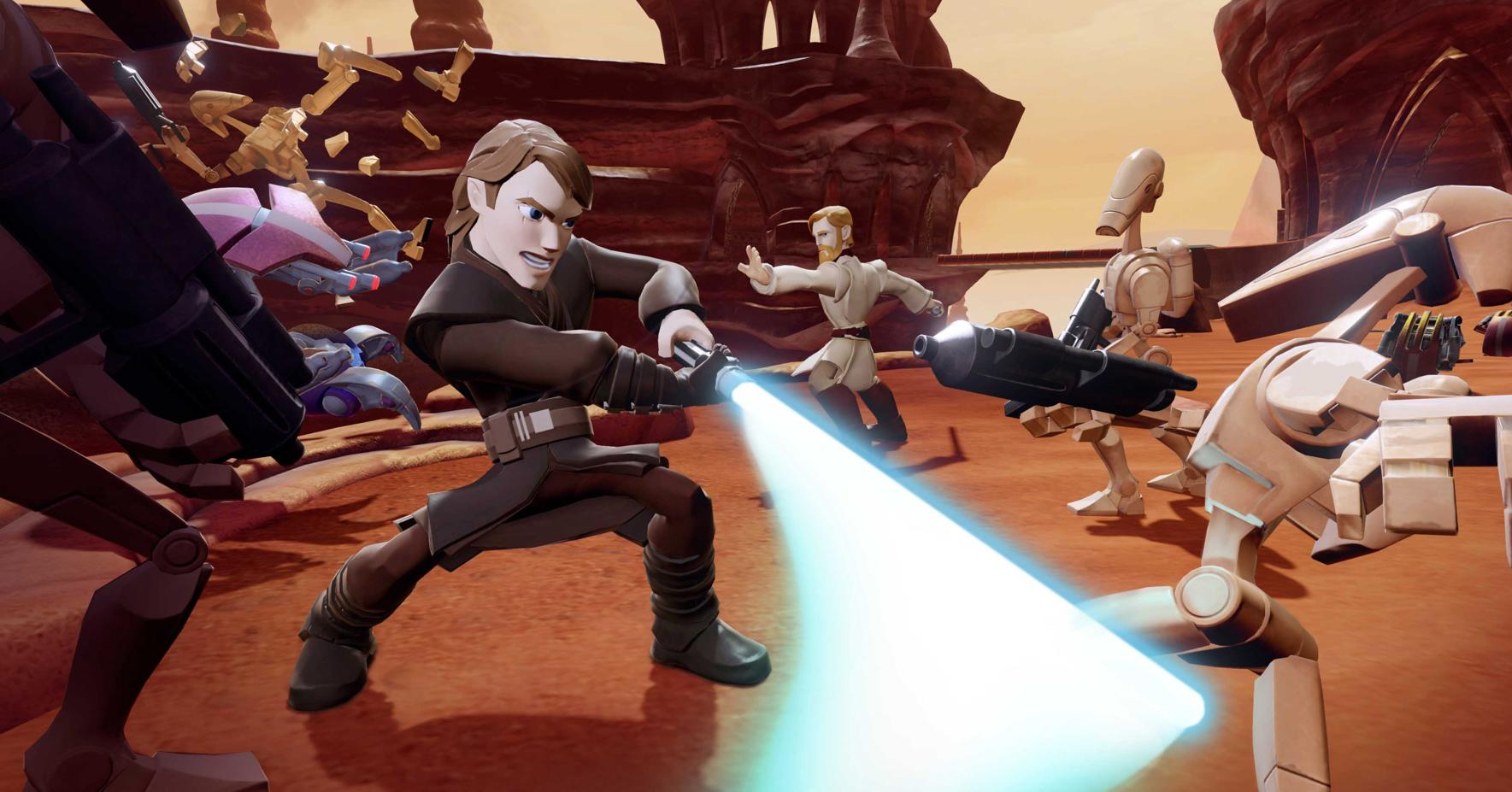 Review: 'Star Wars' toy rush begins with 'Disney Infinity'