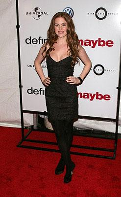 Isla Fisher at the New York City premiere of Universal Pictures' Definitely, Maybe