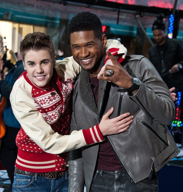 Justin Bieber, Scooter Braun & Stars Tweet Grief Over Usher's Stepson