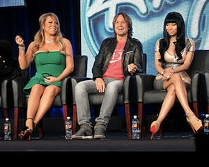 New American Idol Judges, Execs Speak Out on Mariah Carey-Nicki Minaj Feud: 'It's Authentic'