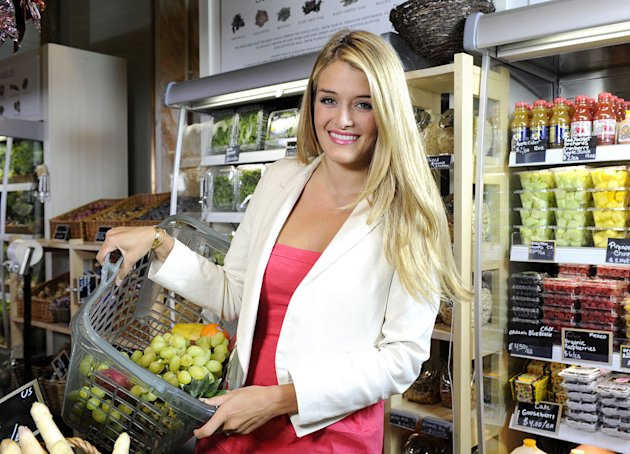 "Daphne Oz co-hosts ""The Chew."""