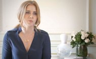 Amy Adams is starring in the campaign for Lacoste&#39;s new fragrance Eau de Lacoste and we have two exclusive videos of Amy talking about beauty