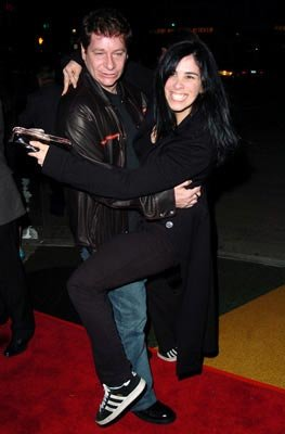 Jeffrey Ross and Sarah Silverman at the Westwood premiere of Lions Gate Films' A Love Song for Bobby Long