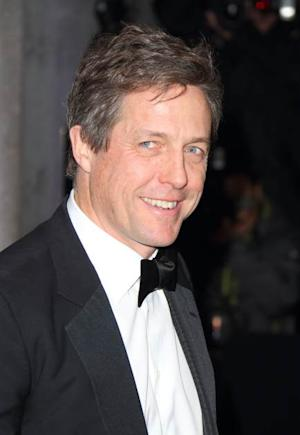 Hugh Grant attends the Evening Standard Theatre Awards at The Savoy Hotel on November 17, 2013 in London -- Getty Images
