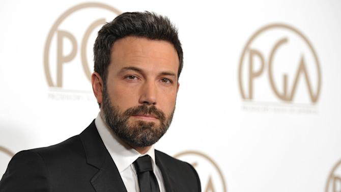 Ben Affleck arrives at the 24th Annual Producers Guild Awards at the Beverly Hilton Hotel on Saturday Jan. 26, 2013, in Beverly Hills, Calif. (Photo by John Shearer/Invision/AP Images)