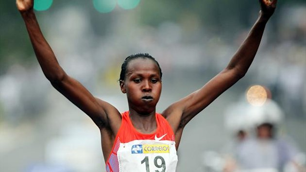 Jeptoo Priscah of Kenya (Reuters)