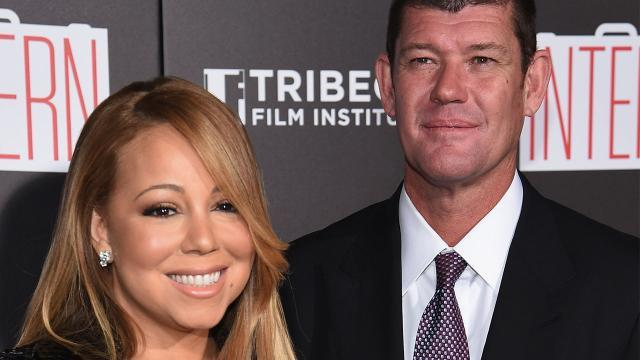 Mariah Carey Reveals How She Met Billionaire Boyfriend James Packer and Shows Off Stunning New Jewels