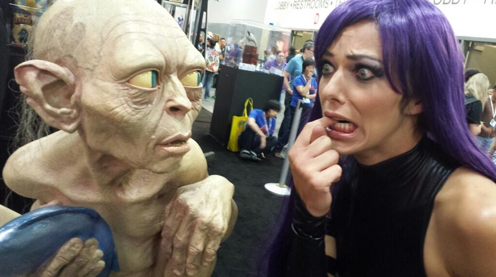 adrianne curry gollum