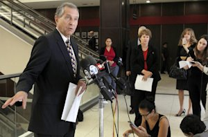 Attorney Paul Meyer, left, for Saudi Princess Meshael …