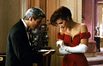 Richard Gere and Julia Roberts in Touchstone Pictures' Pretty Woman