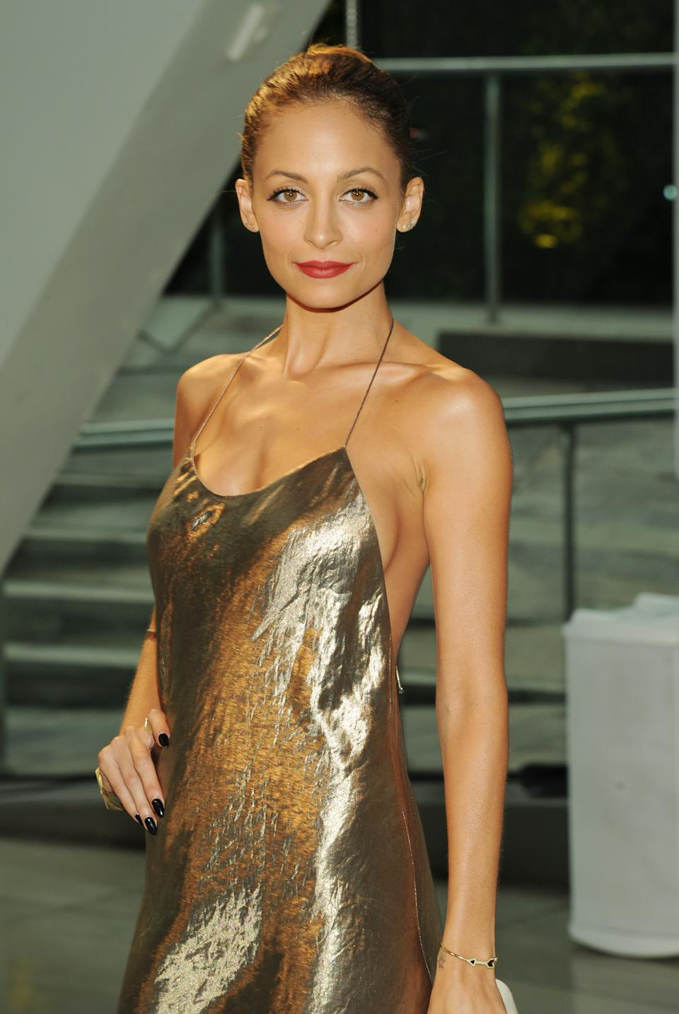 Nicole Richie attends the 2013 CFDA Fashion Awards at Alice Tully Hall on Monday, June 3, 2013 in New York. (Photo by Evan Agostini/Invision/AP)