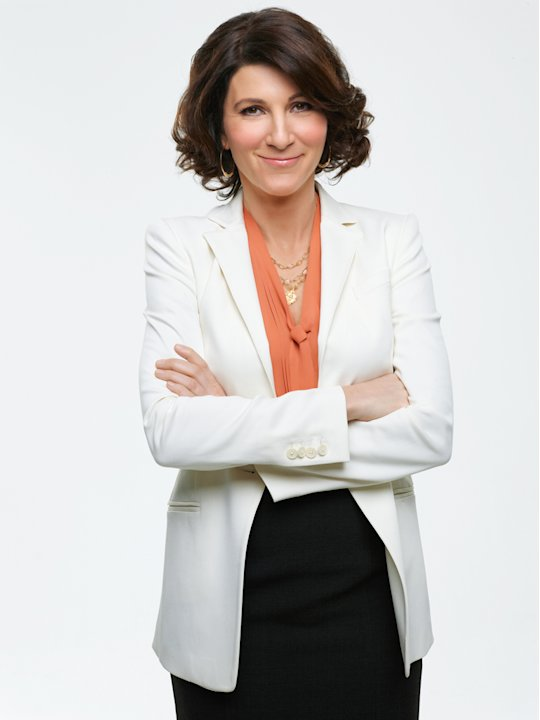 "Eve Best as Dr. O\'Hara in ""Nurse Jackie."""