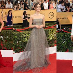 SAG Awards: Red-Carpet Highlights