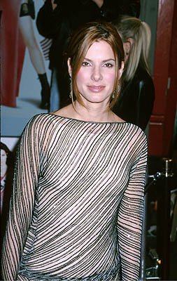 Sandra Bullock at the Hollywood premiere of Warner Brothers' Miss Congeniality