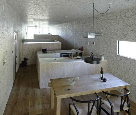 Low-Budget House in Japan Inspired by Animal Nests