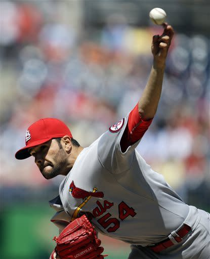 Cardinals beat Strasburg, Nationals 4-2 for sweep