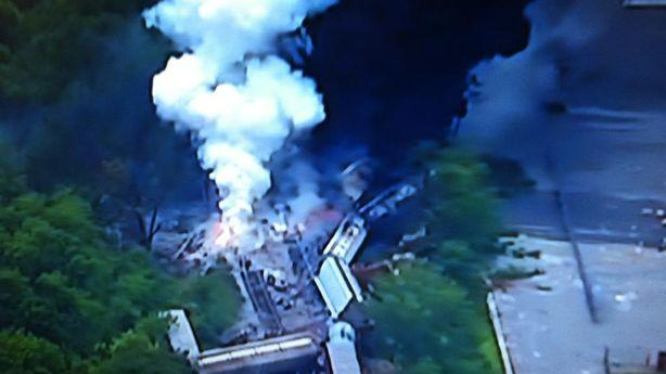 The Baltimore Train Derailment Pictures Are Terrifying