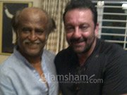 Sanjay Dutt, Rajinikanth bond in Chennai!