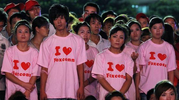 Foxconn's Big Improvements Include Chairs, Knitting Classes