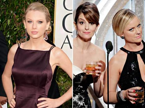 Golden Globes 2013's Most Awkward Moments: Salma Hayek Flubs, Taylor Swift Mocked and More!