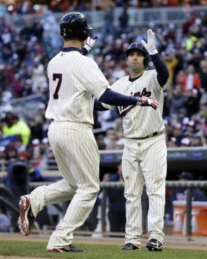 Mauer, Morneau have 3 hits, Twins beat Orioles 8-5