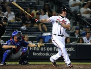 Jones has 5 hits, 4 RBIs as Braves beat Cubs 10-3