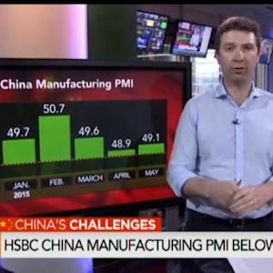 HSBC China Flash PMI for May Below Estimate