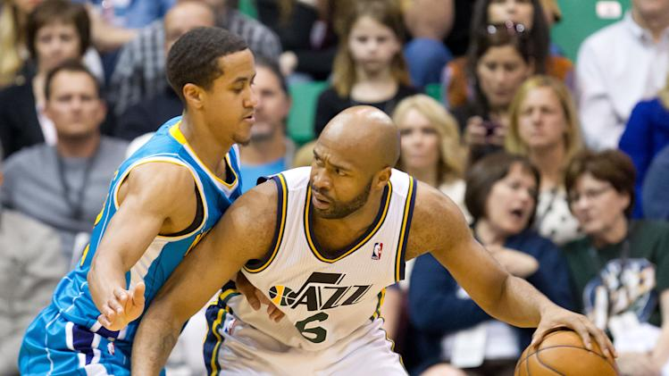 NBA: New Orleans Hornets at Utah Jazz