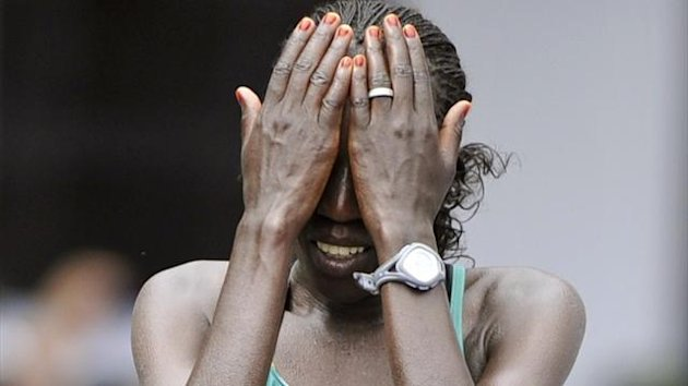 Edna Kiplagat of Kenya (Reuters)