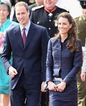 Prince William and Kate Middleton visit Whitton Park in Darwen, England on April 11, 2011  -- Getty Images