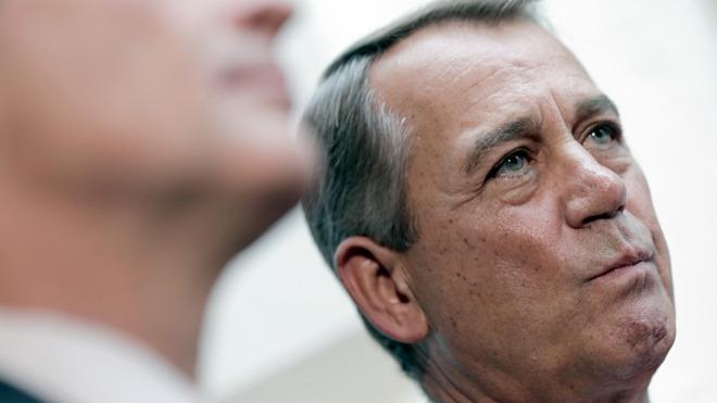 Boehner is close to becoming a dead man walking.
