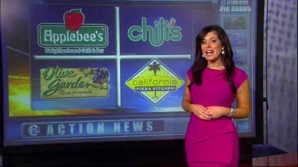 Healthy choices at some favorite restaurant chains