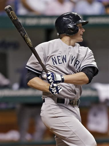 Granderson hurt as Yankees beat Rays 9-4