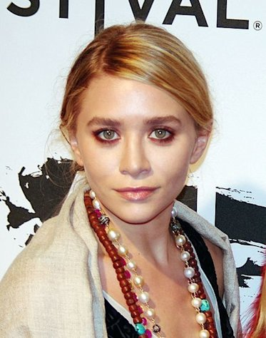 Ashley Olsen and her sister Mary-Kate set the trend for celebs designing clothing.