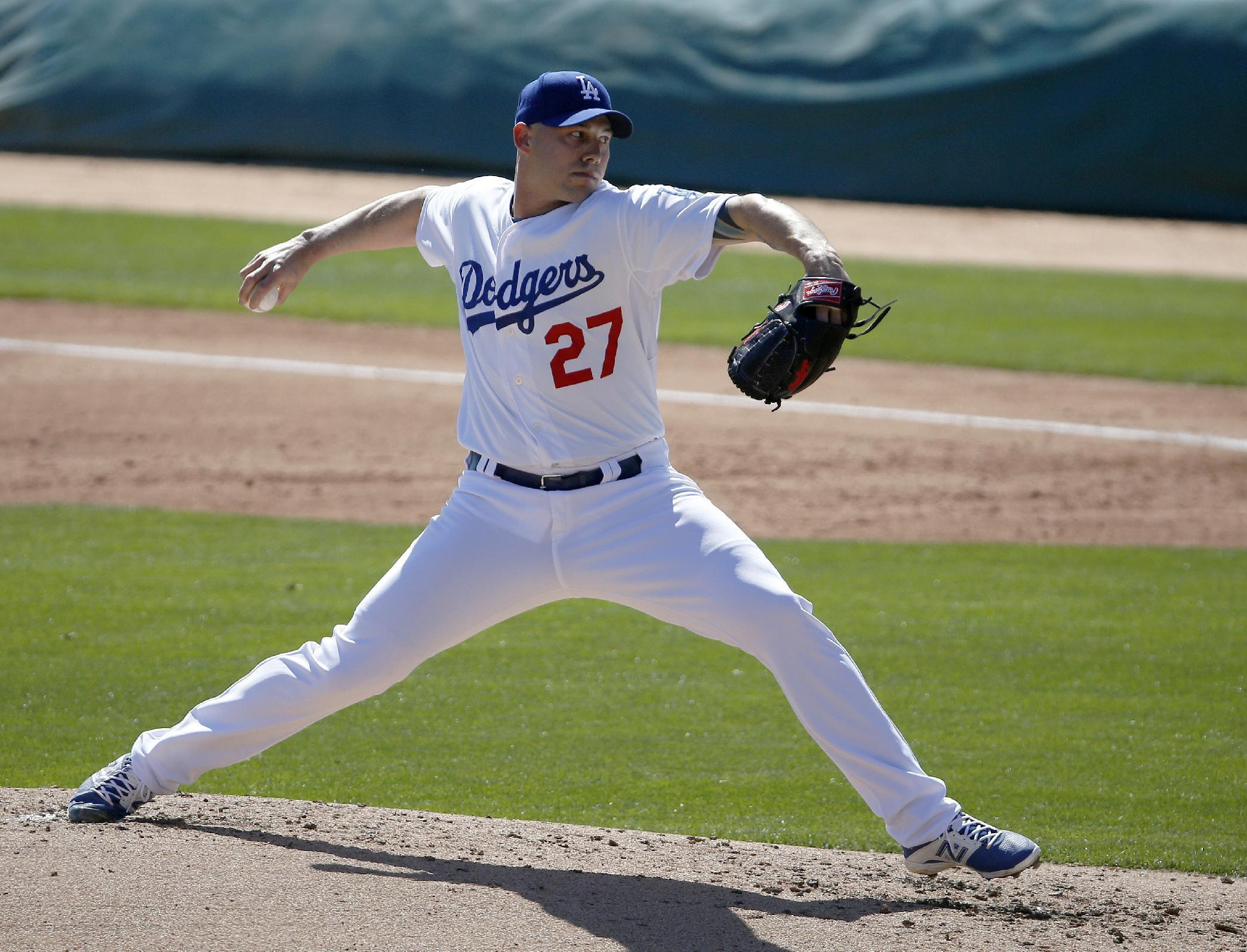 Dodgers release McGowan, owe former players $43.8M