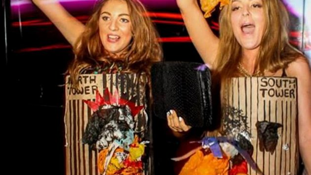 Teens' Burning Twin Towers Costume Causes Outrage (ABC News)